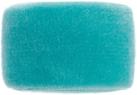Vintage aqua turquoise velvet band