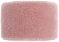 girls blush pink velvet band