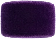 girls aubergine purple velvet band