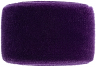 aubergine purple velvet band