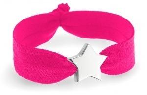 personalised pink bracelet