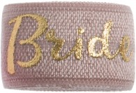 Bride Blush pink & Gold Band