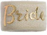 Bride Ivory & gold band