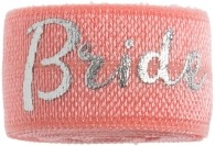 Bride Coral & Silver band