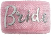 Bride Soft Pink & Silver band