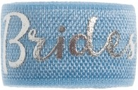 Bridesmaid soft blue band