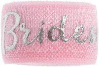 Bridesmaid soft pink and silver band