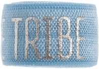 bride tribe soft blue band