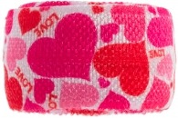 girls multi heart band