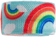 Blue Happy Rainbow Band