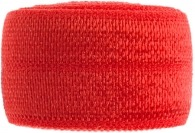 poppy red elastic