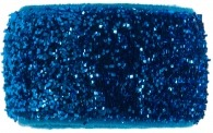 something blue turquoise glitter band