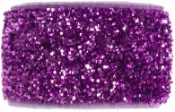 girls amethyst purple glitter band