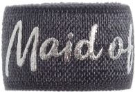 maid of honour charcoal grey band