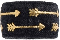 Black & Gold Straight Arrows band