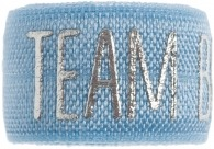 Team bride soft blue band