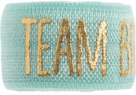 Team Bride soft mint band