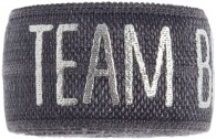 Team bride charcoal grey band