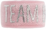 Team bride soft pink band