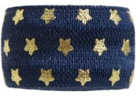 Navy & Gold Stars Band