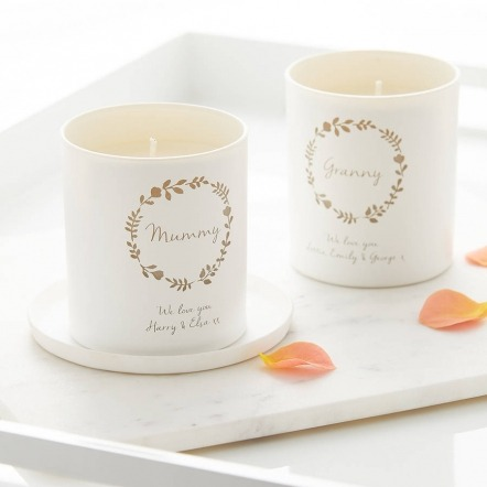 personalised  we love you candle