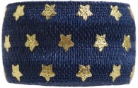 navy and gold star bracelet