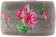 grey rose bracelet