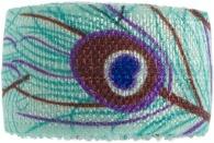 girls turquoise peacock bracelet