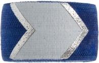 navy chevron bracelet